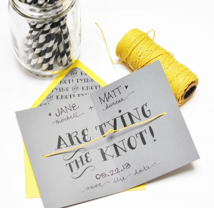 Smitten on Paper Tie The Knot