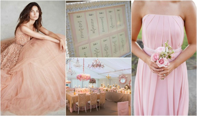 Rose Gold Mood Board 1
