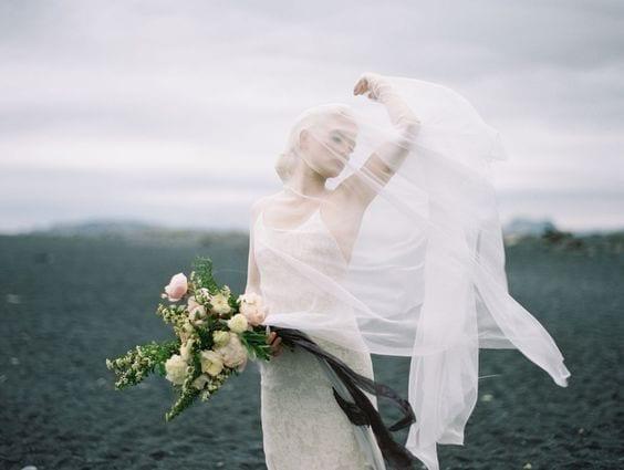 Crisp Nordic Wedding Style