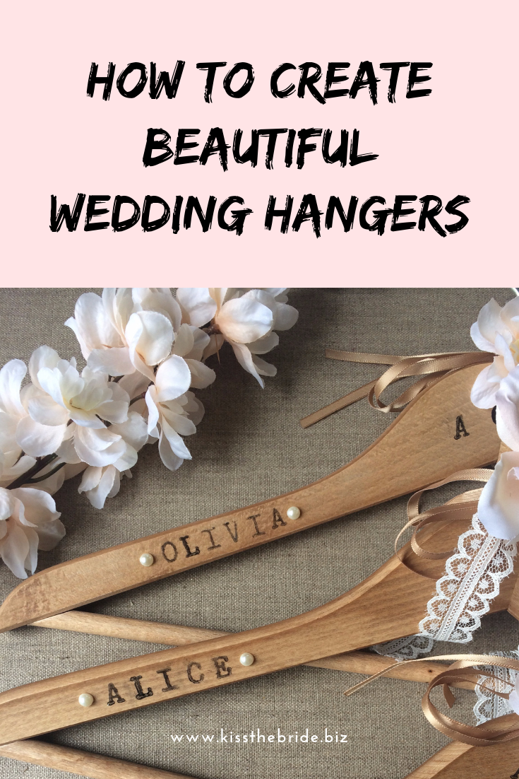 DIY Wedding Hangers