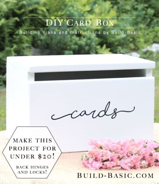 Build Your Own Card Box