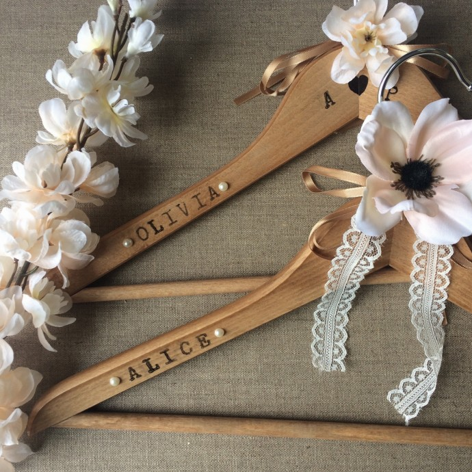 DIY Wedding Hanger