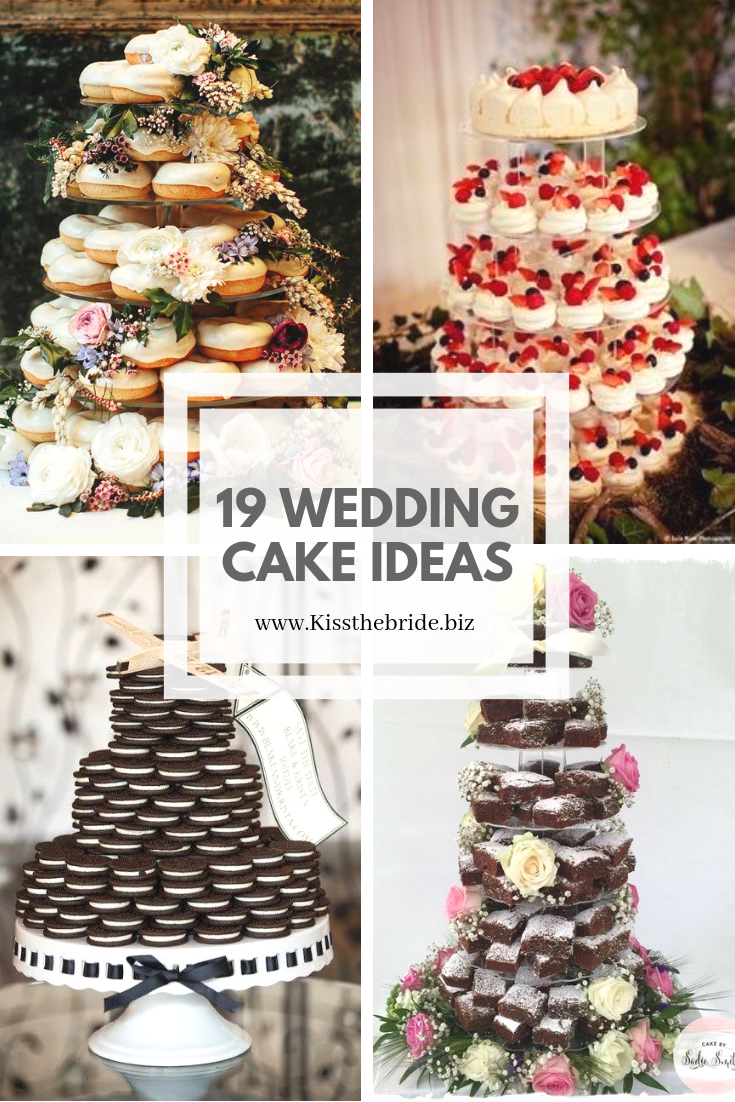 Non wedding cake ideas