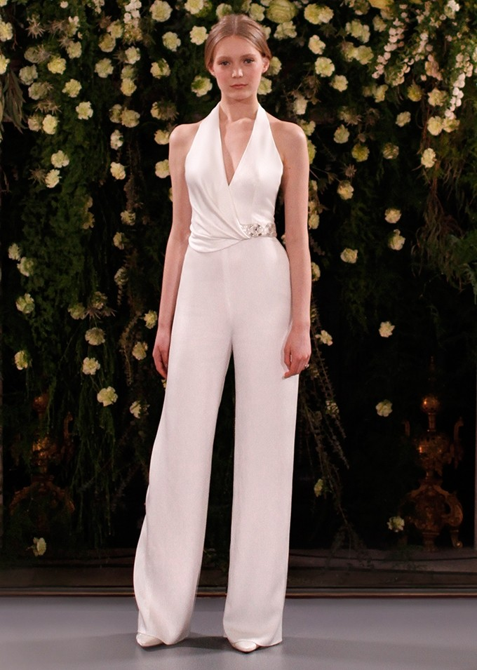 Jenny Packham Wedding Jumpsuit - Nadia