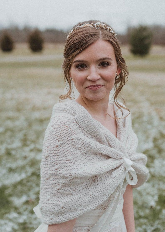 Winter wedding shawls