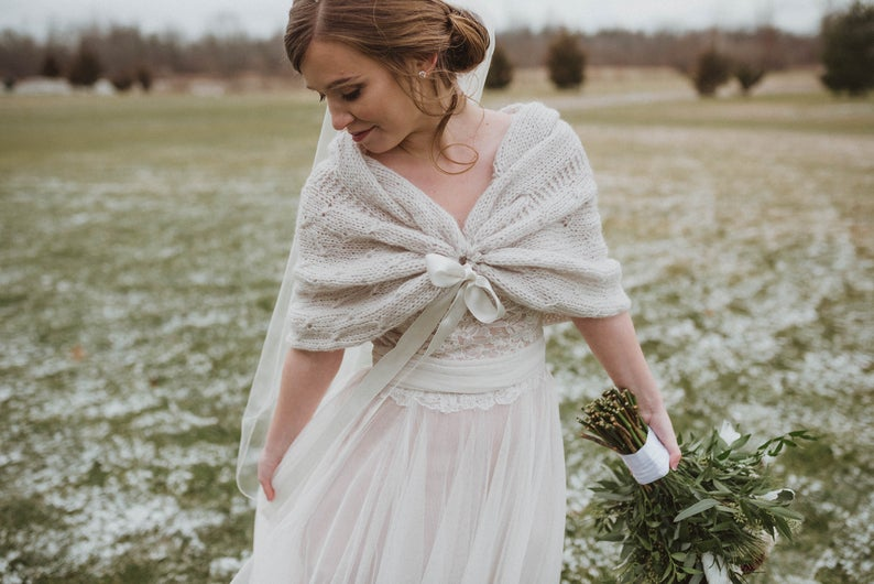 Shawls for a winter wedding