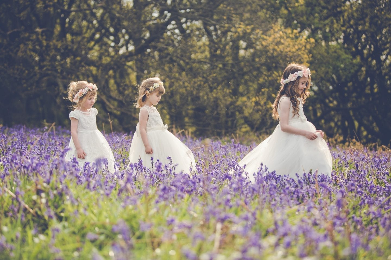 Ivory flowergirl dresses