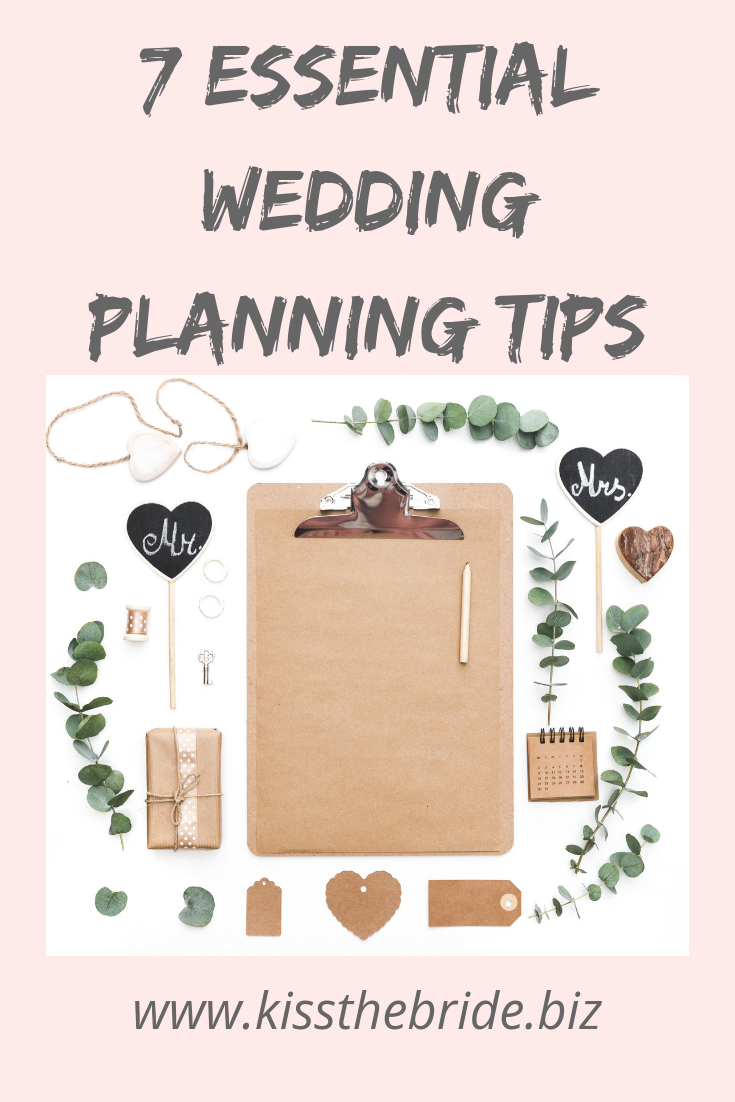 Essential Wedding planning tips