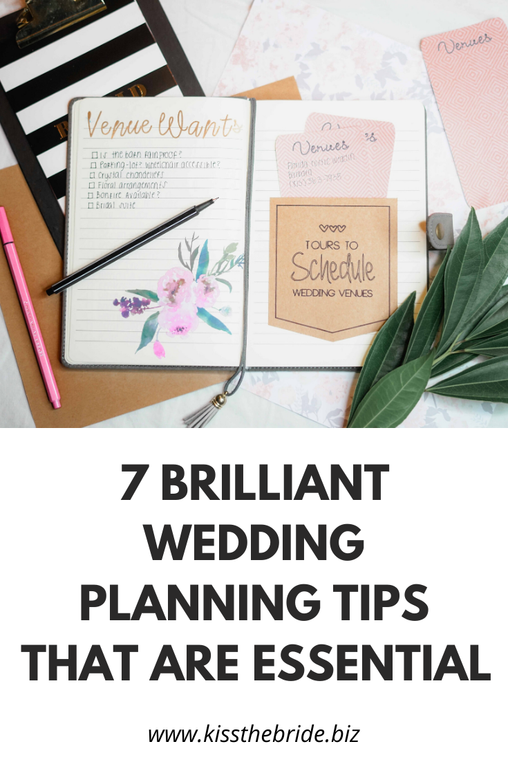 Weddingplanningtips
