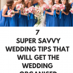 7 brilliant wedding tips