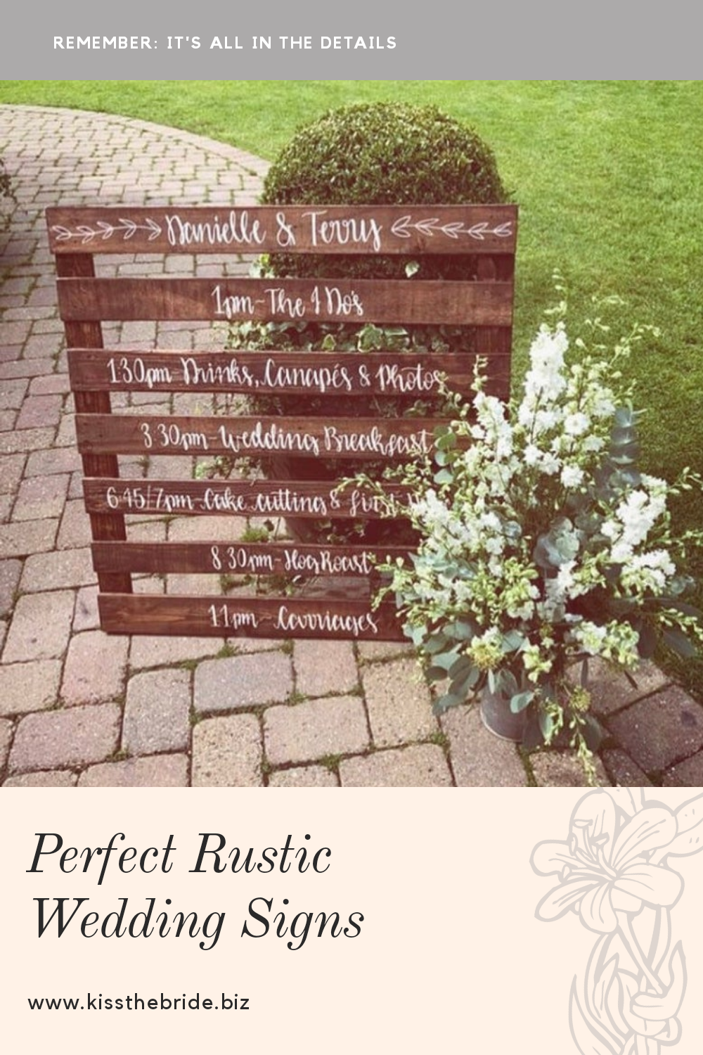 12 Rustic Wedding signs