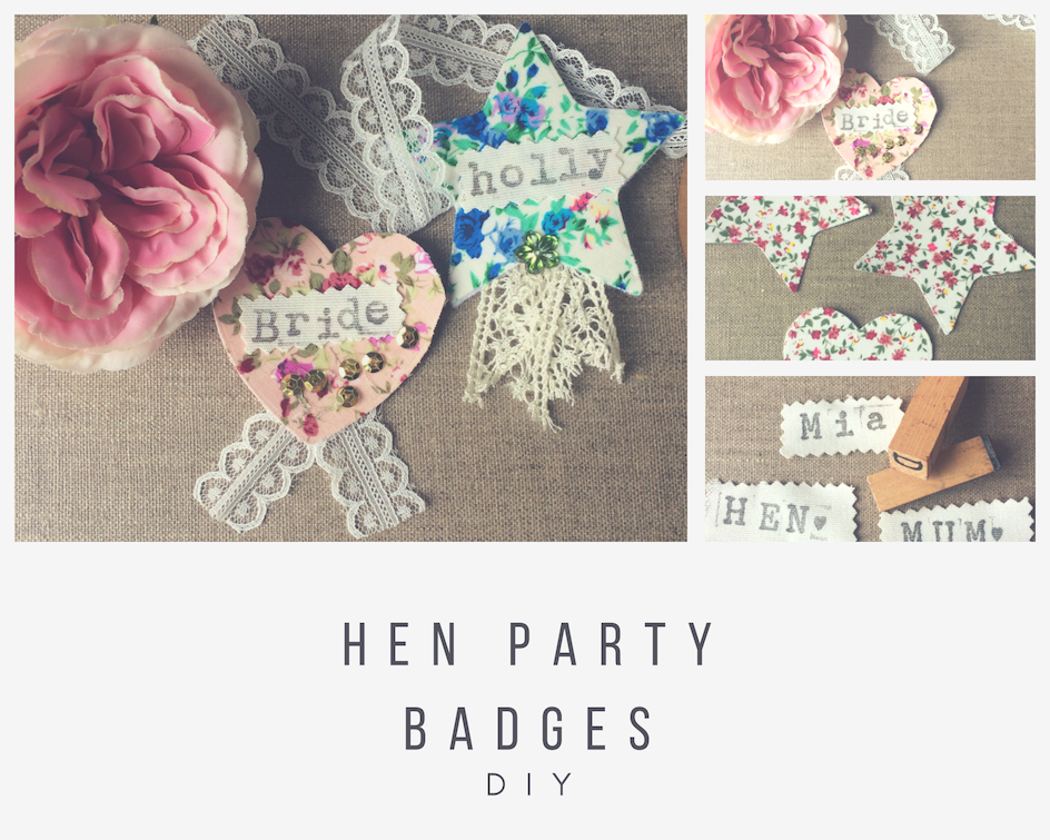Easy Crafty Hen Party Badges