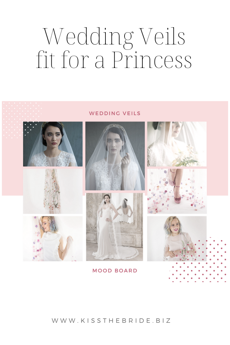 Wedding Veils fit for a princess