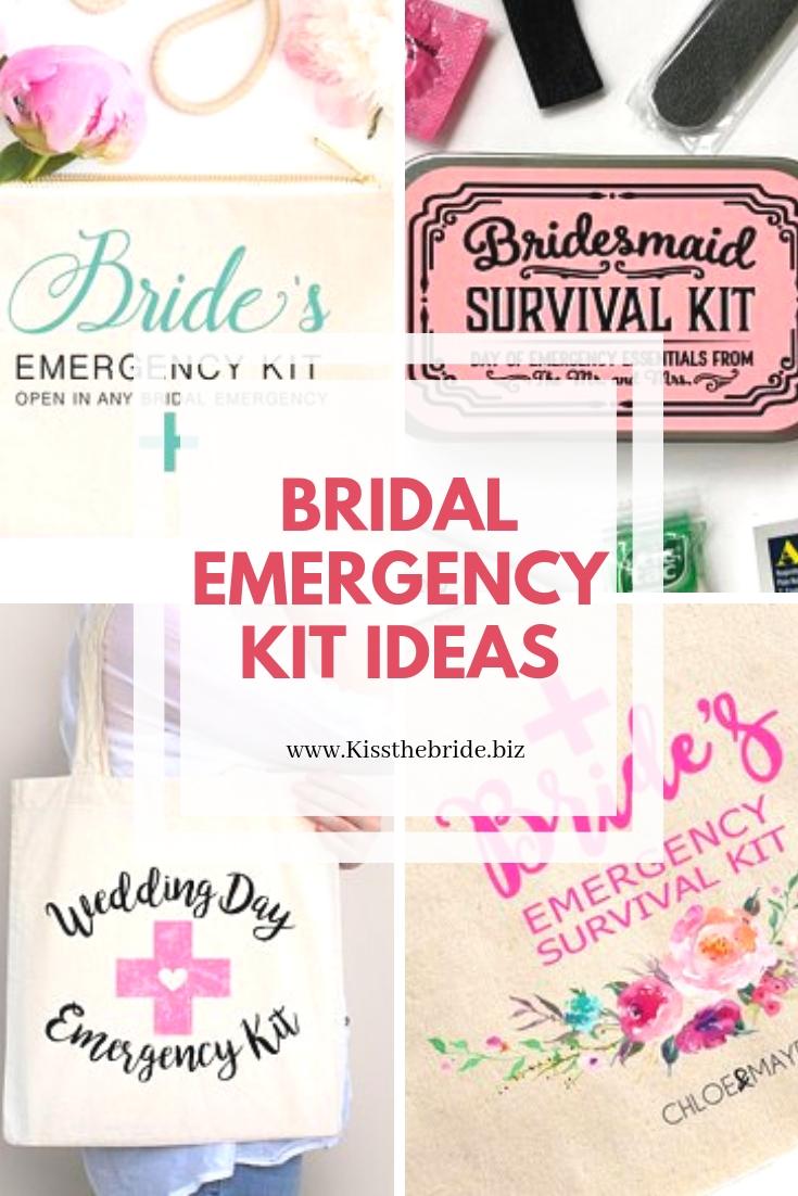 The emergency bridal kit