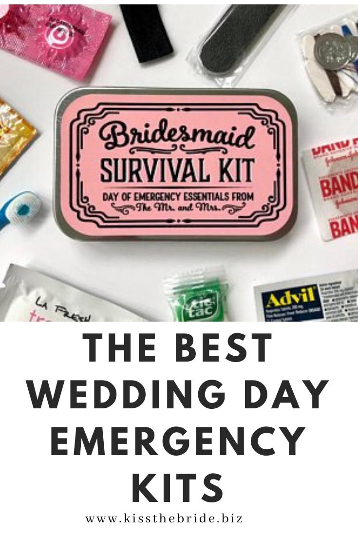 Wedding Day emergency bags