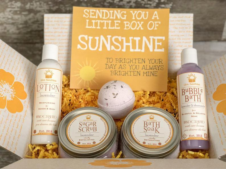 Anti stress brides gift basket