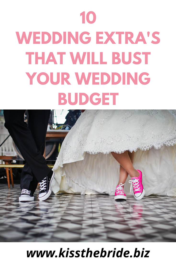 Wedding budget costs