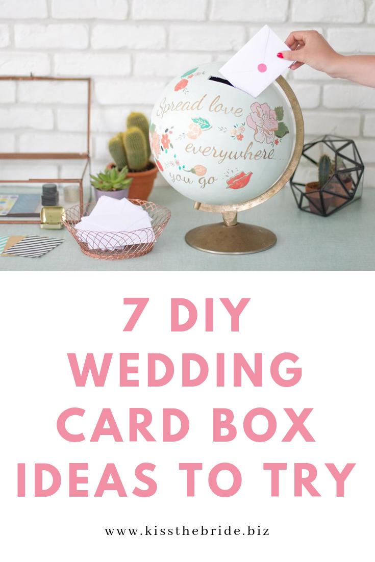 DIY Globe card box