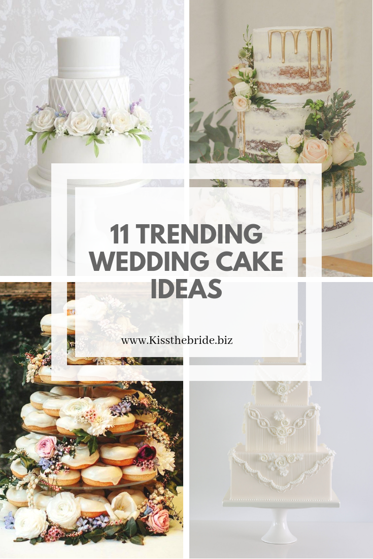 On trend wedding cakes