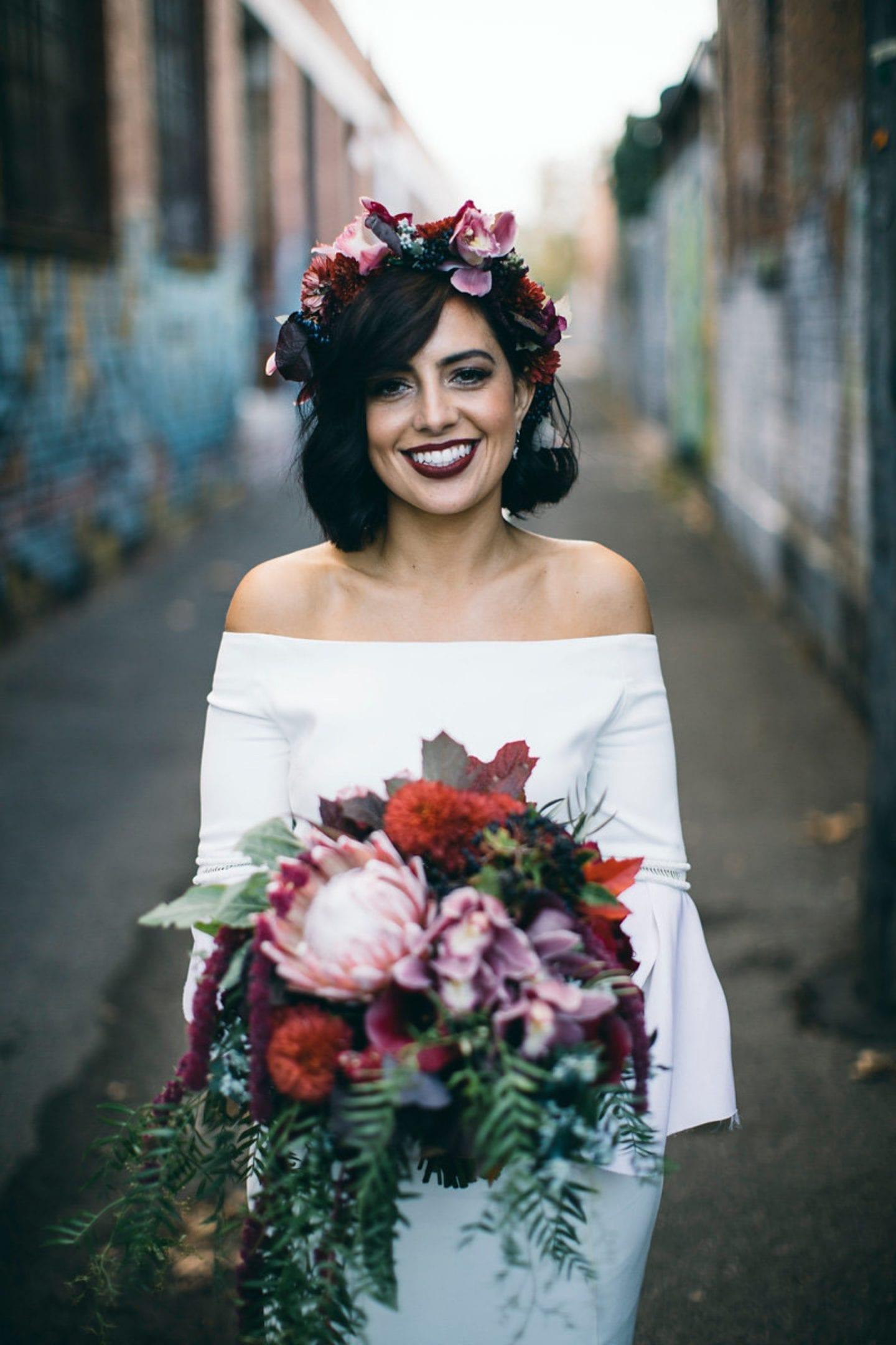 Bridal flowercrown