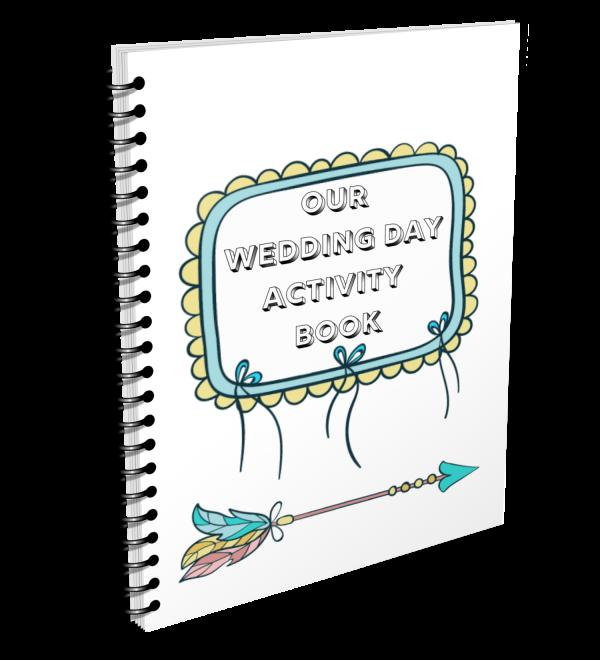 Kids wedding activity pack