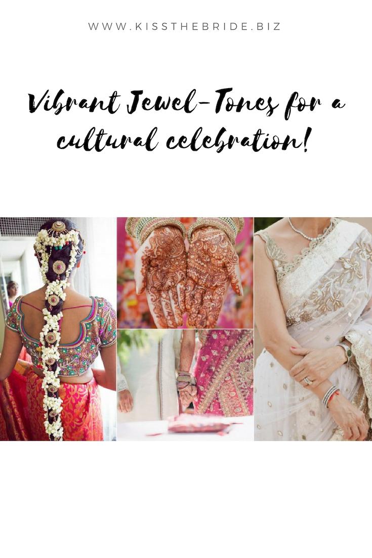 Jewel wedding colours