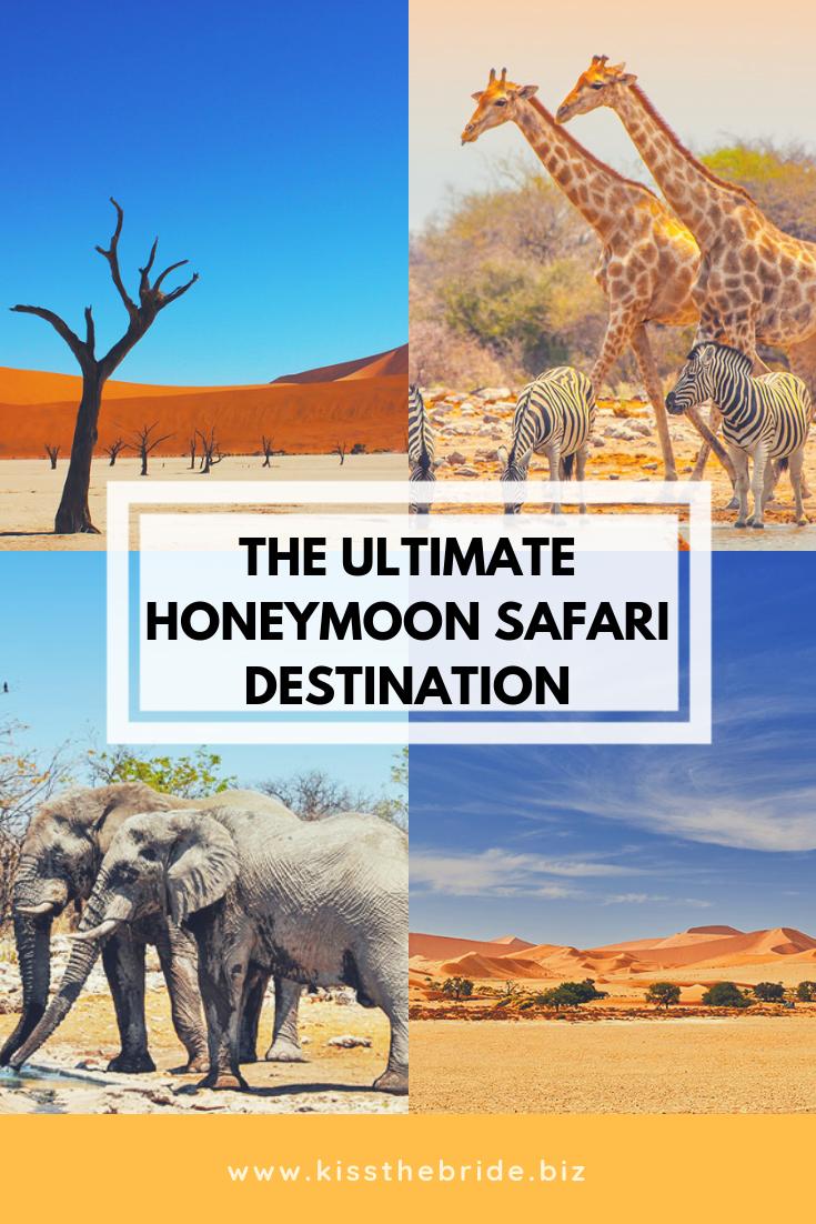 Honeymoon in namibia