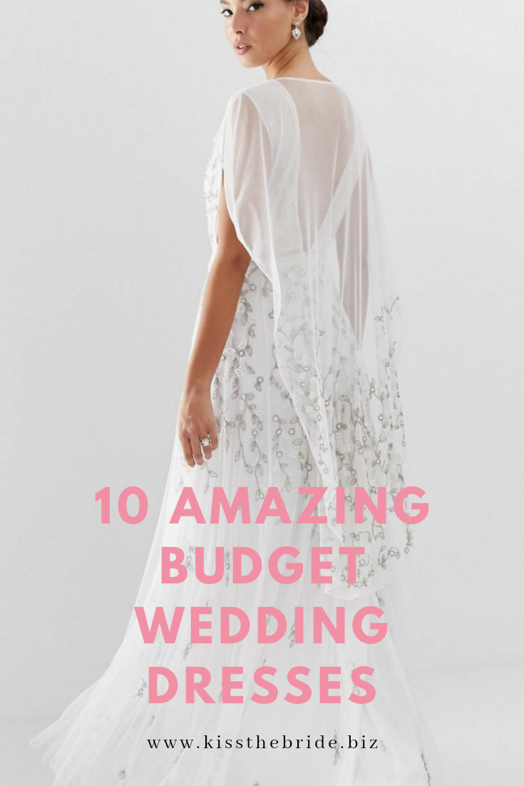 Wedding dresses on a budget