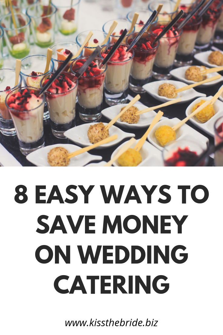 Catering on a wedding budget