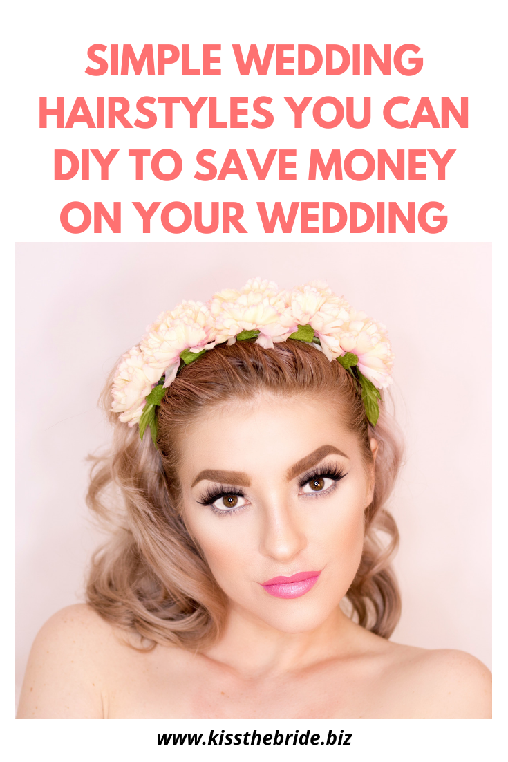 DIY Wedding hair ideas