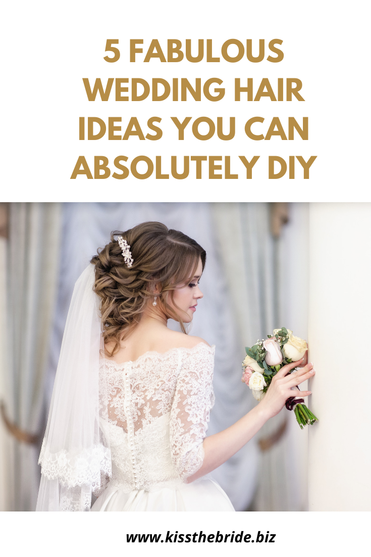 Wedding hair diy