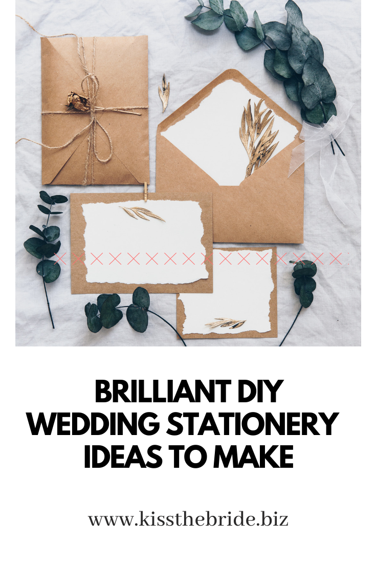 DIY Wedding stationery