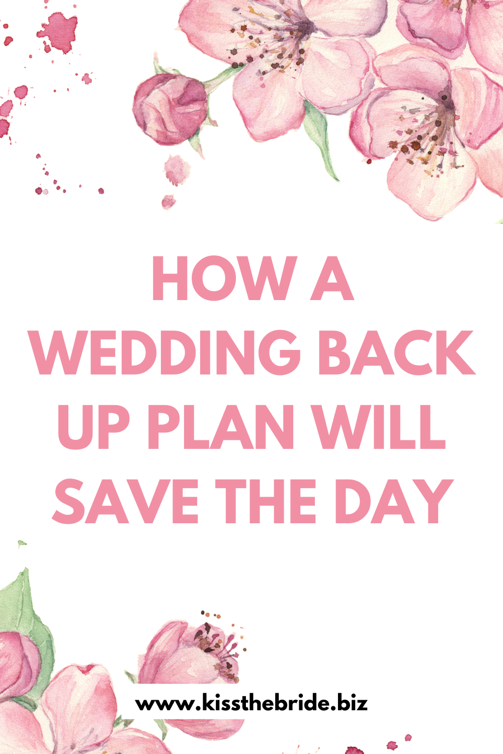The wedding back up plan