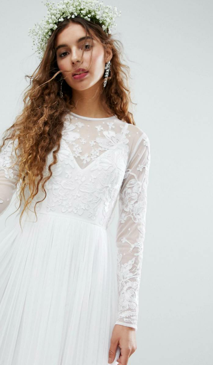 Wedding dress for under £200