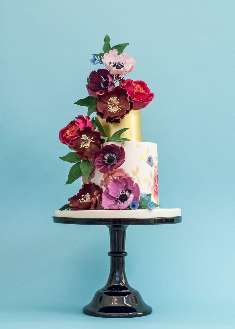 Rosalind Miller wedding cake