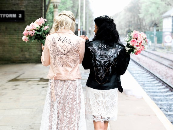 16 Custom Leather wedding jackets you will love