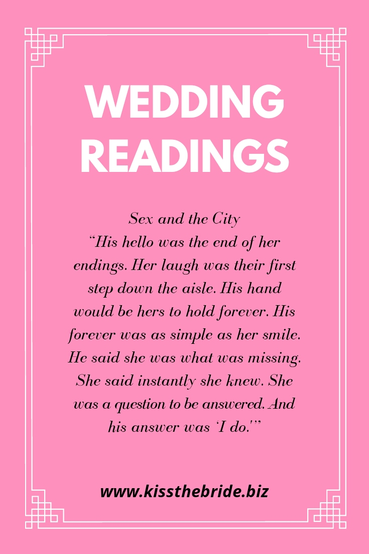 Wedding Readings