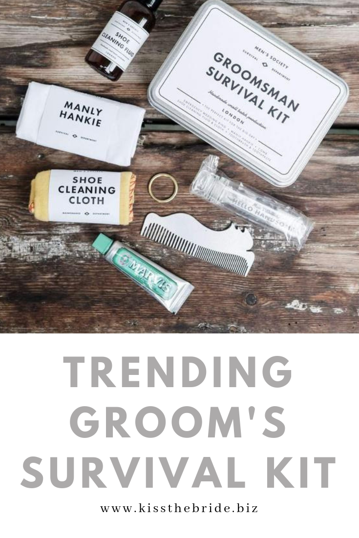 Trending gift ideas for the groom