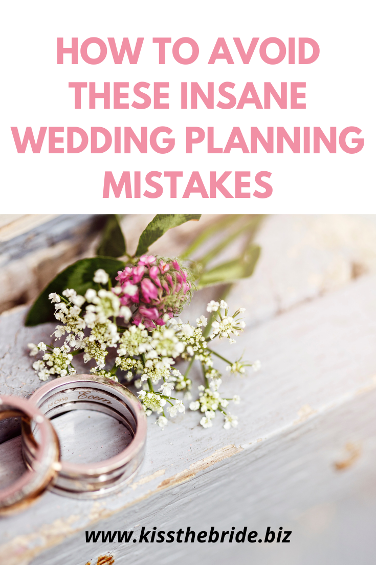 Wedding planning advice and tips