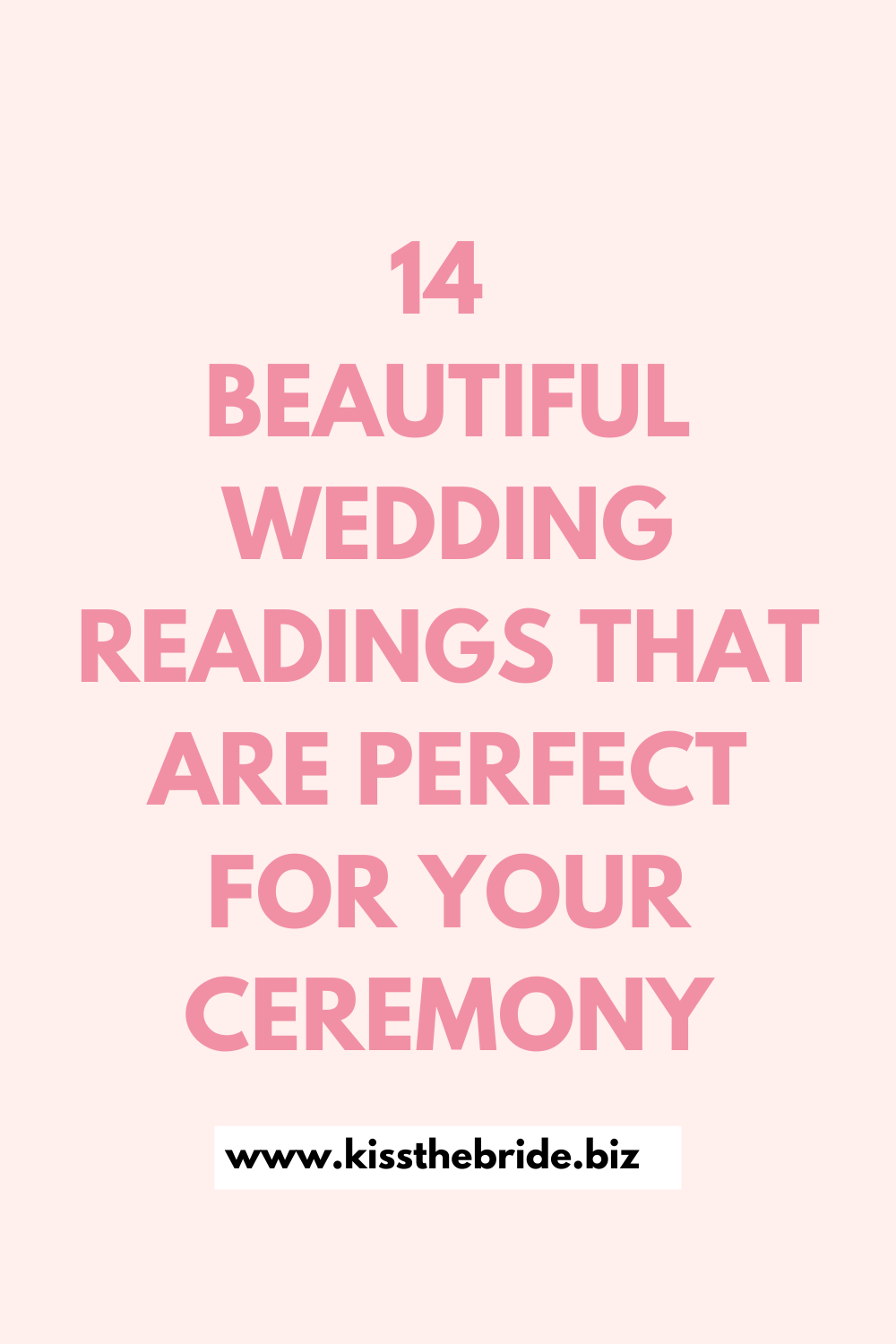 14 Wedding readings from movies