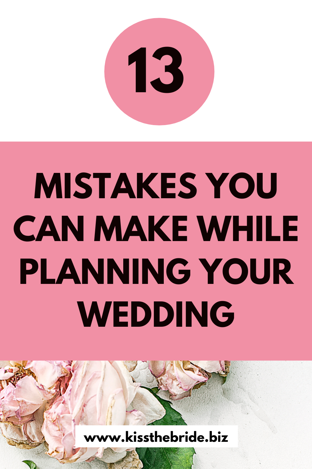 13 Wedding planning mistakes