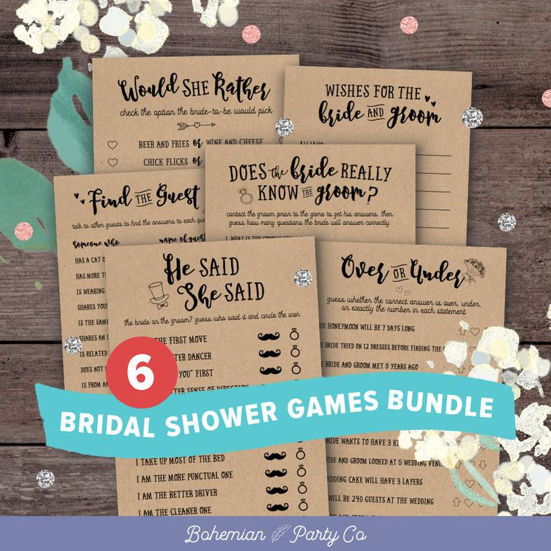 Hen Party Activity Packs