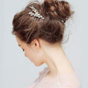 Opal Bridal Hair combs set