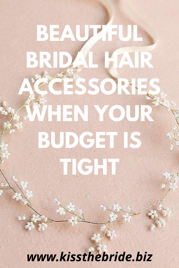 Budget wedding hair accessories
