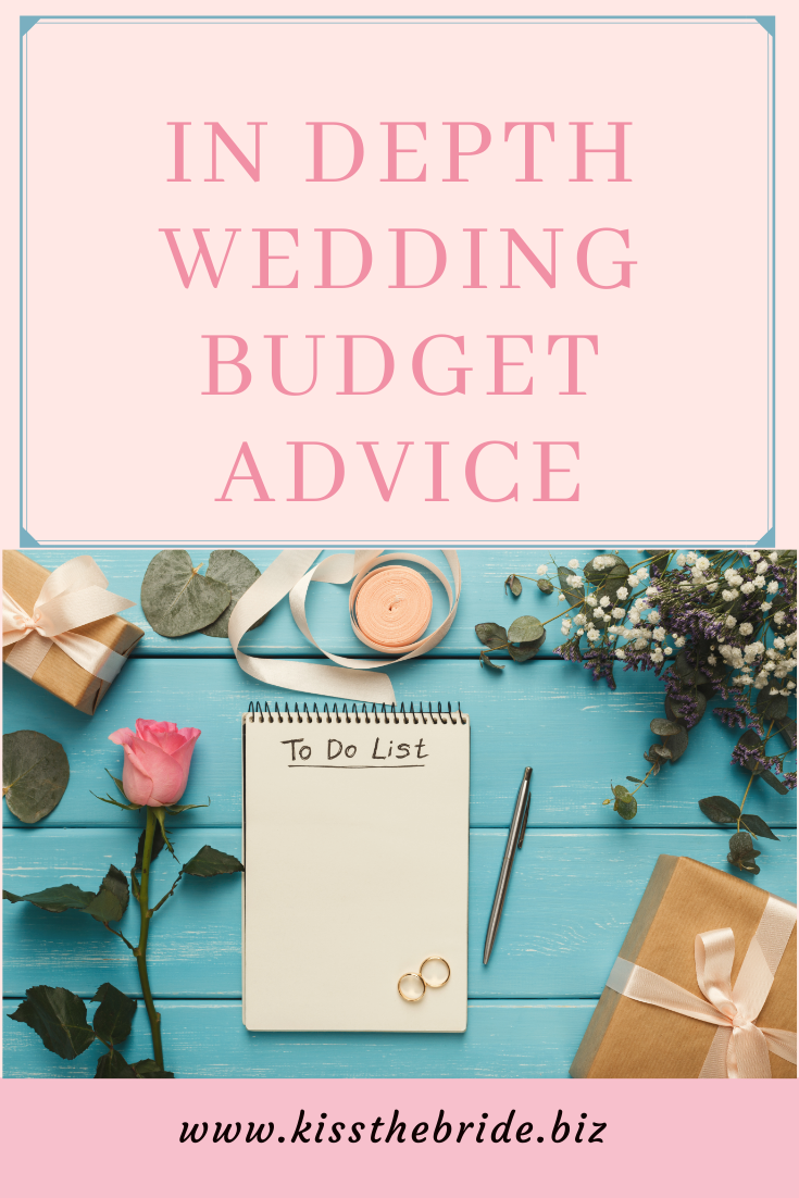 Wedding budget advice and tips