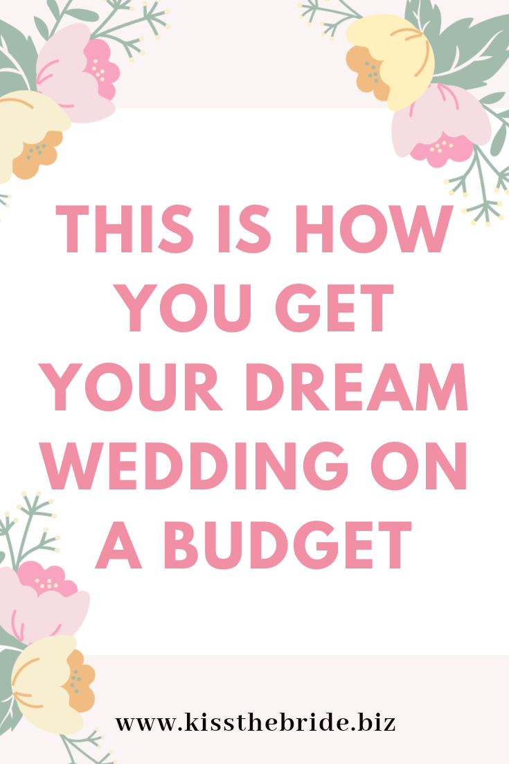 Wedding budget advice