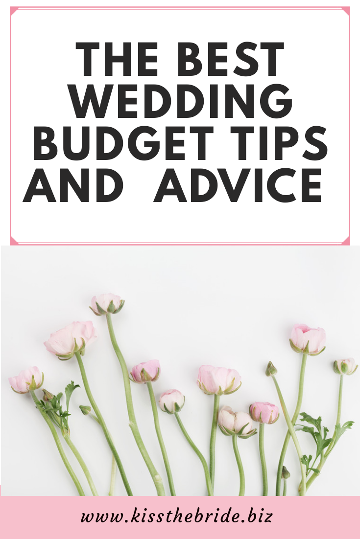 Wedding budget tips and advice