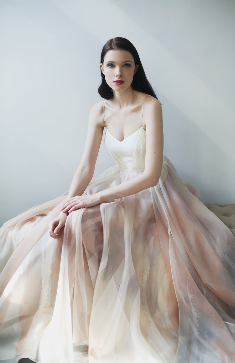 Leanne Marshall ombré wedding dress