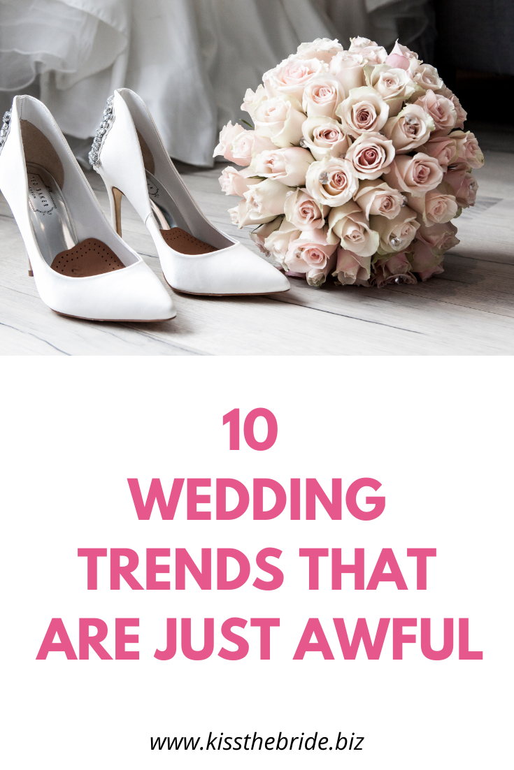 10 wedding trends to avoid in 2020