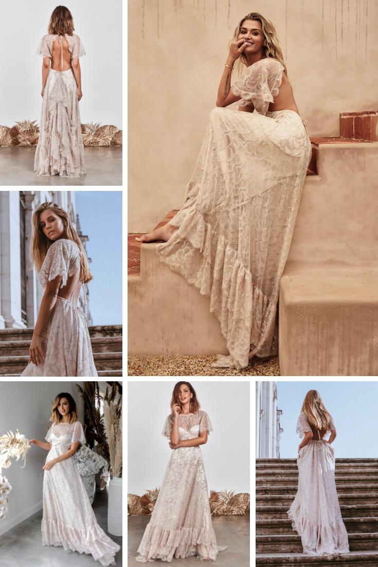 Capri wedding dress